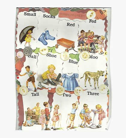 See Dick & Jane's Crazy Quilt.. Poster