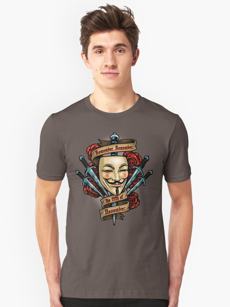 Fifth of November Unisex T-Shirt Front