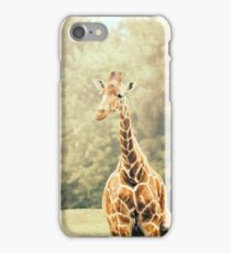 Giraffe Portrait iPhone Case/Skin