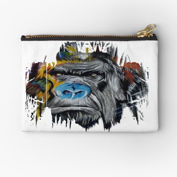 Angry Ape Zipper Pouch