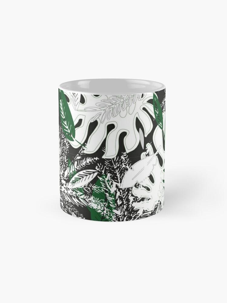 Alternate view of White Monstera Mug