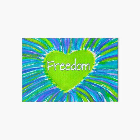 Freedom Art Board Print