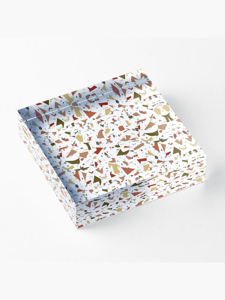Alternate view of Mash Up Terrazzo Acrylic Block