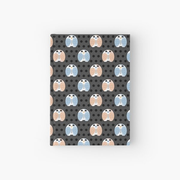 Night Time Owl Hardcover Journal