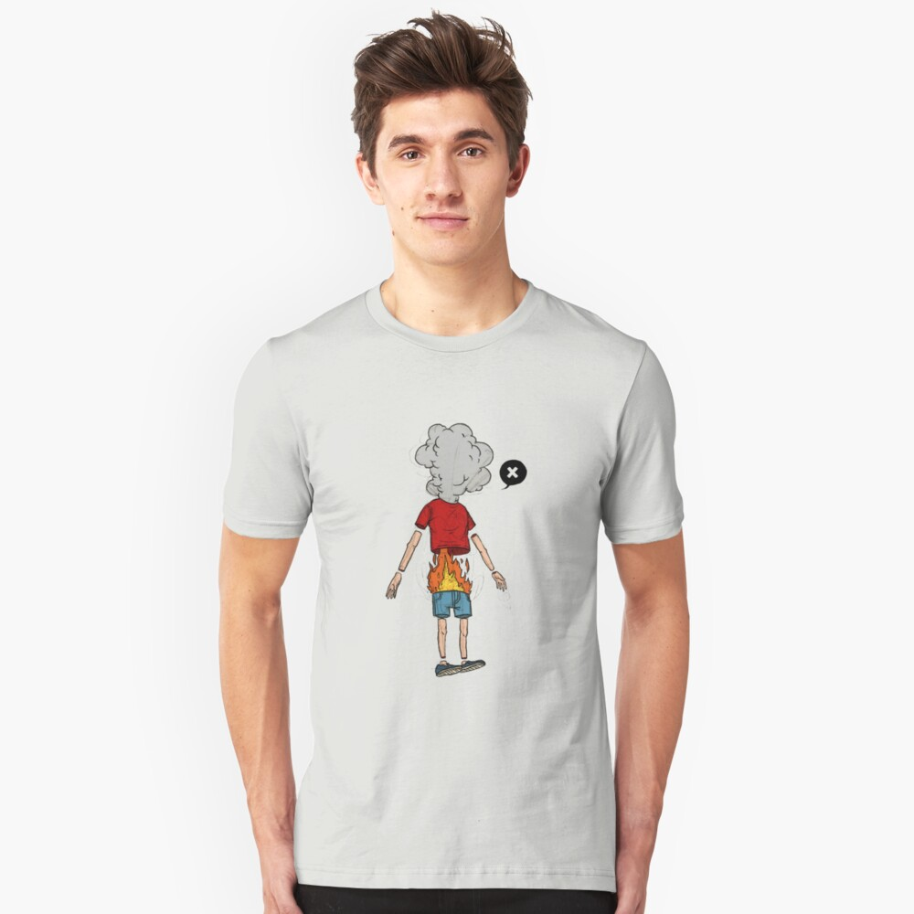 a boy on fire: the movie Unisex T-Shirt Front