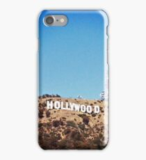 Hollywood Sign iPhone Case/Skin