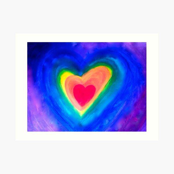 MY Bold Heart Art Print