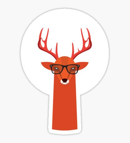 OHH DEER Sticker