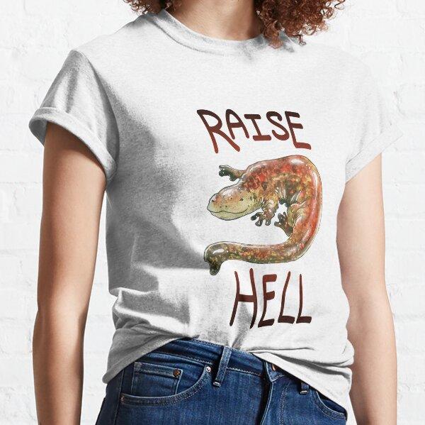 "Hellbender ""Raise Hell"" Design Classic T-Shirt"