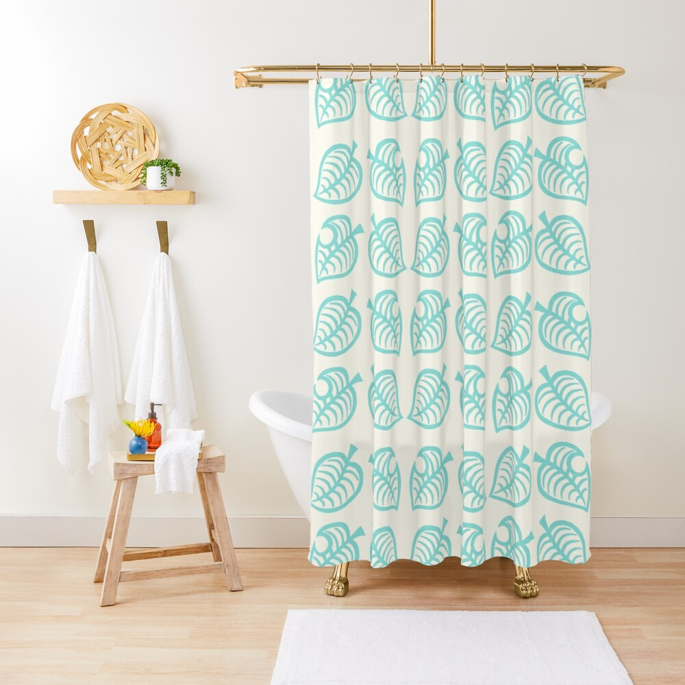 Nook leaves Shower Curtain
