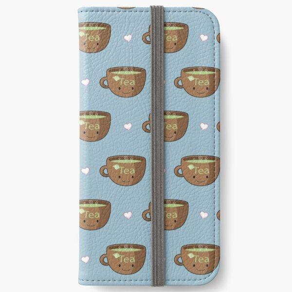 I Love Tea iPhone Wallet