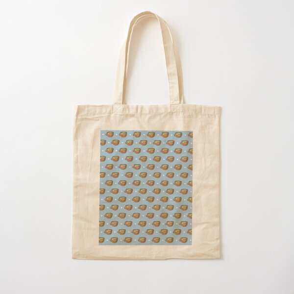 I Love Tea Cotton Tote Bag