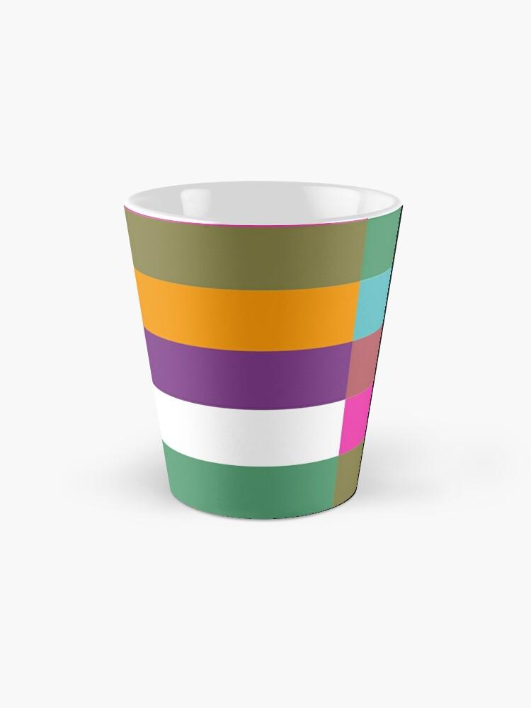 Alternate view of Colour Hue Block Stripes  Mug