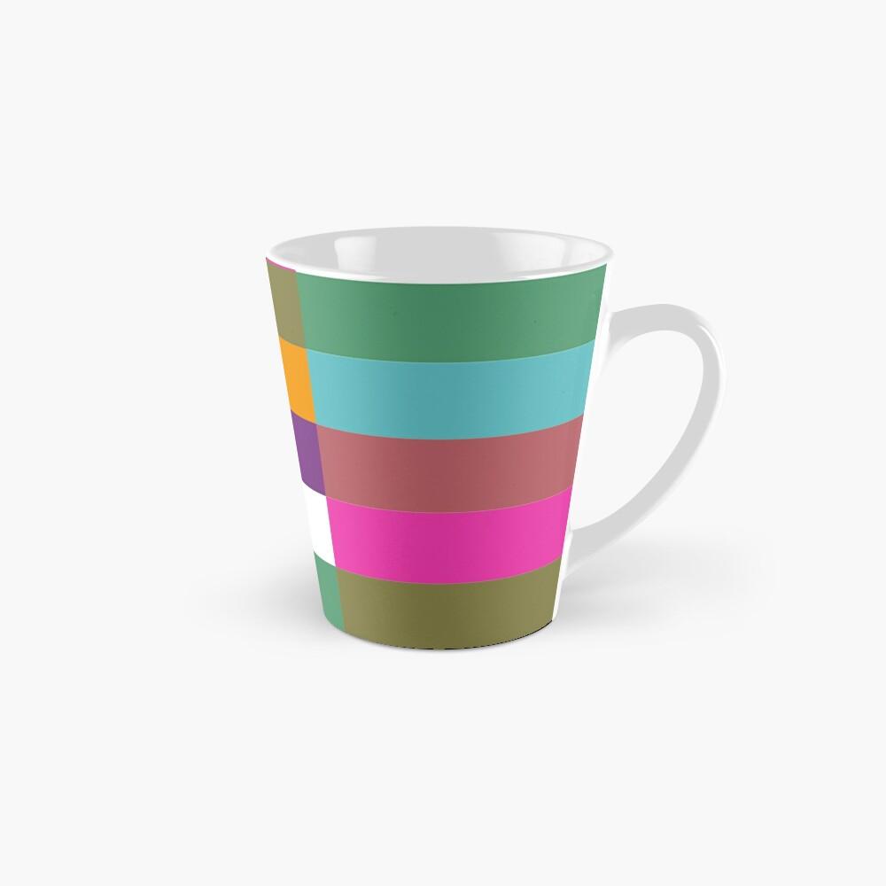Colour Hue Block Stripes  Mug