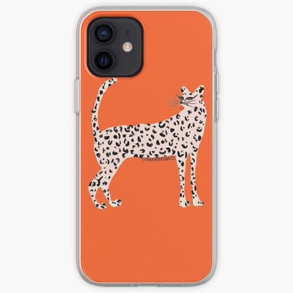 Pink Leopard iPhone Soft Case