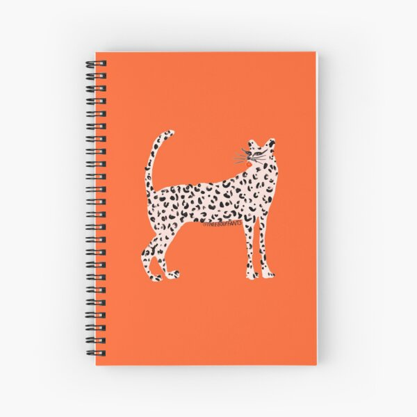 Pink Leopard Spiral Notebook