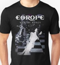 Europe Band War Of Kings tour 2016 Unisex T-Shirt