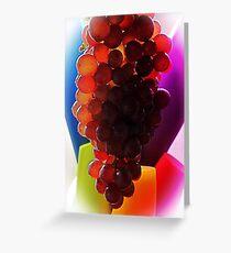 Grape Rainbow Greeting Card