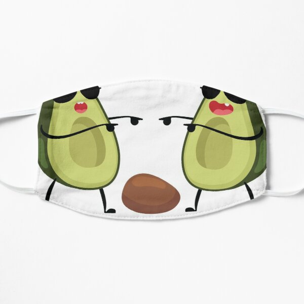 Get Pitted I Funny Surfer Graphic Avocado Gift graphic Mask