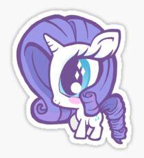 Weeny My Little Pony- Rarity Sticker