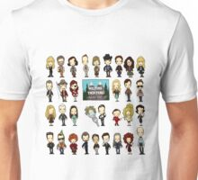 Welcome to the town of Twin Peaks, population 51,201 Unisex T-Shirt