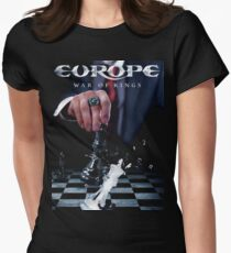 Europe Band War Of Kings us tour 2016 Women's Fitted T-Shirt