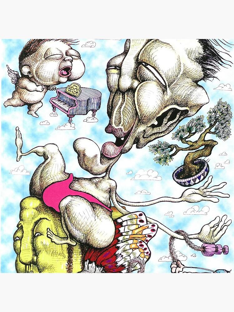 Sumo Wrestler & Cherub by Oddtoe