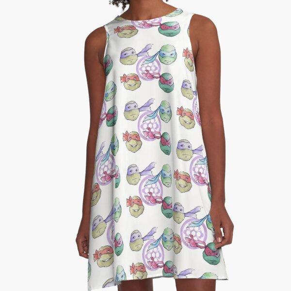 IDW Watercolors A-Line Dress