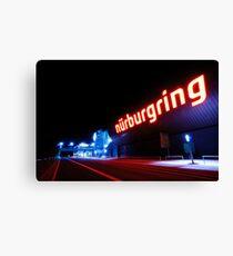 Nürburgring by night Canvas Print
