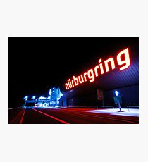 Nürburgring by night Photographic Print