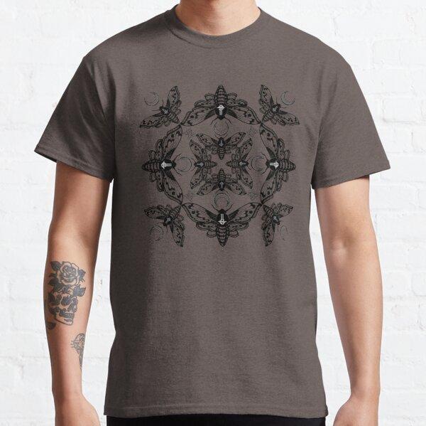 Ghost Cirice Moth Kaleidoscope Classic T-Shirt