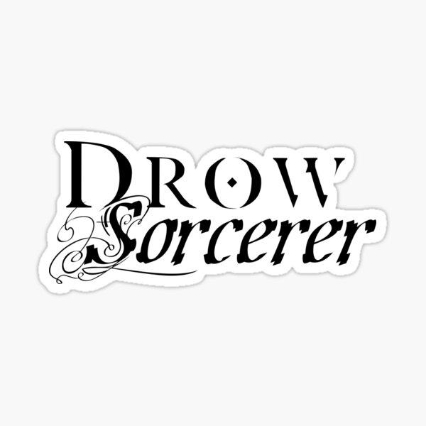Drow Sorcerer Sticker
