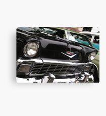 Bling Black; Historical Front Street 12th Annual Car Show, Norwalk, CA USA Canvas Print