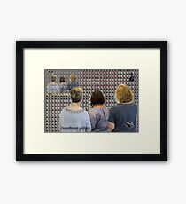 Christmas Carols and LOOKING back @ Hazelhurst.  Framed Print