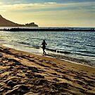 Morning Jog by Robert Phelps