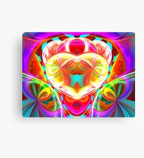 heart of the loonie Canvas Print