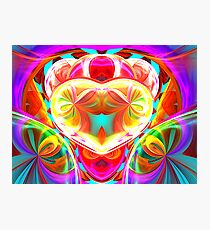 heart of the loonie Photographic Print