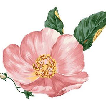 Rambling Rose Flower by titanb00ty