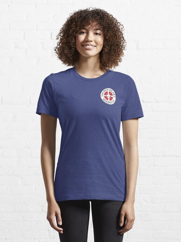 Alternate view of Sacred Heart Hospital - Scrubs Essential T-Shirt
