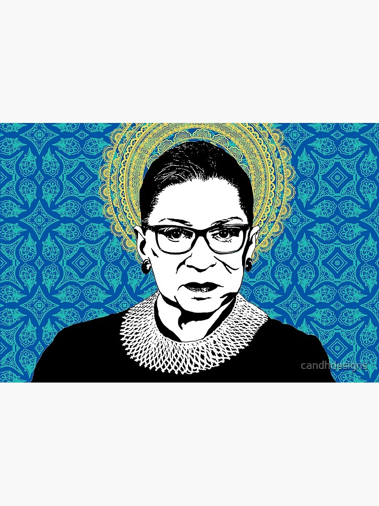 Ruth Bader Ginsburg Feminist Icon RBG by candhdesigns