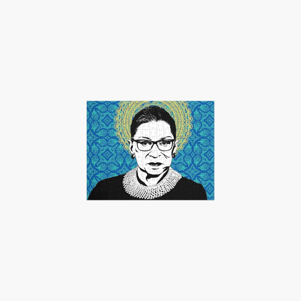 Ruth Bader Ginsburg Feminist Icon RBG Jigsaw Puzzle