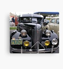 1939 Chevrolet; Historic Front Street 12th Annual Car Show, Norwalk, CA USA Canvas Print