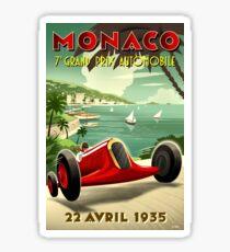 Pegatina Gran Premio de 1935 de Mónaco