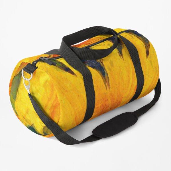 Sunflower Van Gogh style Duffle Bag