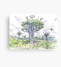 La Citta' Arborea!  Canvas Print