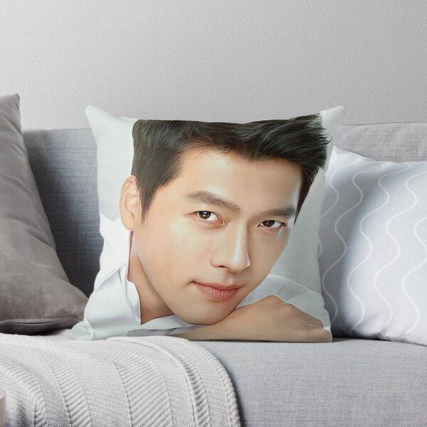 Hyun Bin Throw Pillow