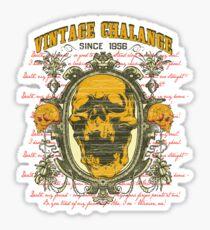 Vintage challenge Sticker