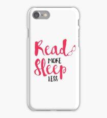 Read/Sleep 2 iPhone Case/Skin