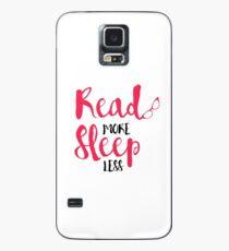 Read/Sleep 2 Case/Skin for Samsung Galaxy