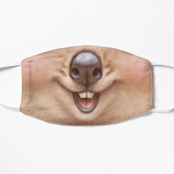 Visage drôle de Quokka Masque sans plis